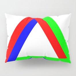 Penrose Triangle RGB Pillow Sham