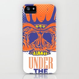 Under the radar  - skeleton iPhone Case