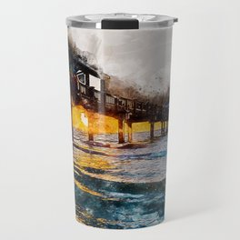 Pier 60, Clearwater Beach Travel Mug