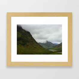 Glencoe Framed Art Print