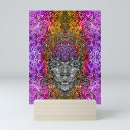 Up in smokes Mini Art Print