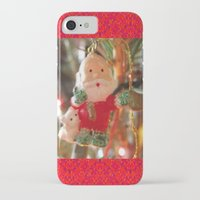 santa iPhone & iPod Cases featuring Santa by lillianhibiscus