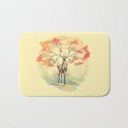 Essence of Nature - A Deer's Echo Bath Mat