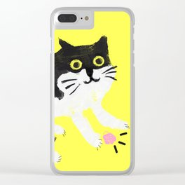 Murphy the cat Clear iPhone Case