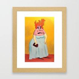 The Comely, Lovely, Emma Morgrow Framed Art Print