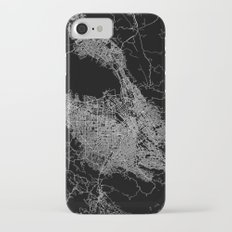 san jose map iPhone 7 Slim Case