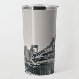 Seoul Cityscape Travel Mug