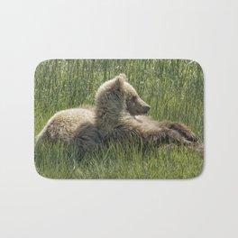 Settling Down Again - Bear Cubs, No. 6 Bath Mat