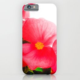 Illuminating Flower Petal iPhone Case
