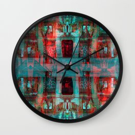 tether vent arena Belt. Wall Clock