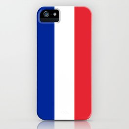 Flag of France, HQ image iPhone Case