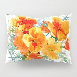 California Poppy Pillow Sham