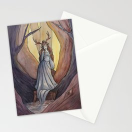 The Silent Forest Stationery Cards