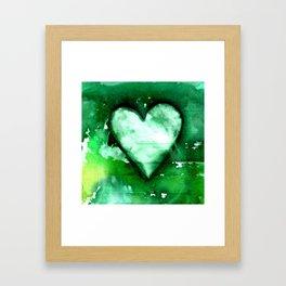 Heart Dreams 3D by Kathy Morton Stanion Framed Art Print