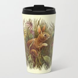 The Cottontail and the Katydid Travel Mug