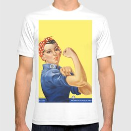 We Can Do It - Rosie the Riveter Poster T-shirt