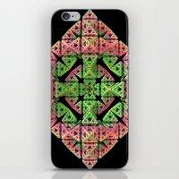 diamond iPhone & iPod Skins featuring Diamond by Lyle Hatch