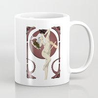 mother of dragons Mugs featuring Dragons  by Andrew Formosa