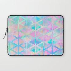 Pink pastel aztec pattern Laptop Sleeve