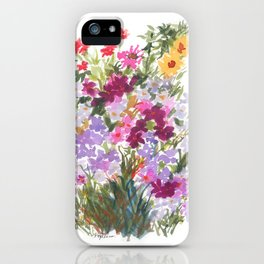 Grand Hotel Floral iPhone Case