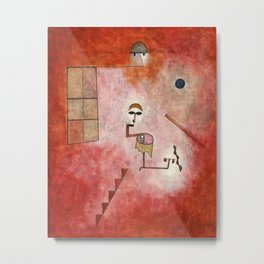 Paul Klee - Prestidigitator Metal Print