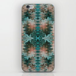 South Western Abstract Mirrored Wavy Pattern iPhone Skin