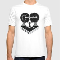 UNO Mens Fitted Tee MEDIUM White