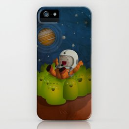 Welcome to mars! iPhone Case