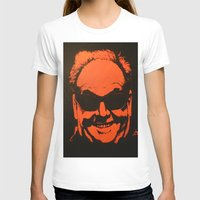 jack nicholson T-shirts featuring Jack by Ty McKie Creations