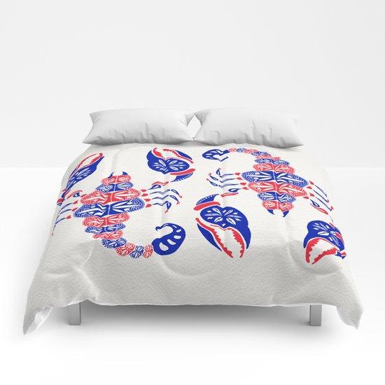 Patriotic Scorpion Comforters