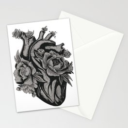 My Floral Heart Stationery Cards