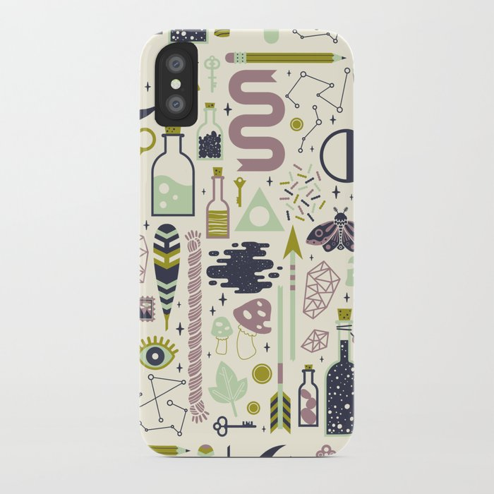 The Witch's Collection iPhone Case