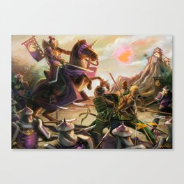 Outnumbered Canvas Print