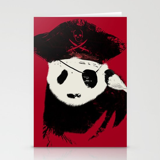 Bio Piracy Stationery Cards