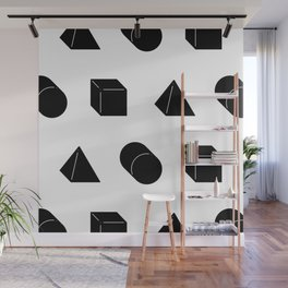 Shapes Pattern Wall Mural
