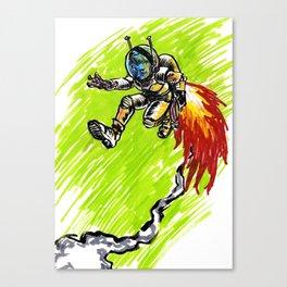 Blast Off! Canvas Print