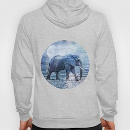 The Elephants Journey Blue Moon Hoody