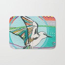 Graffiti Bird One Bath Mat