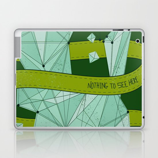 Nothing To See Here (G). Laptop & iPad Skin