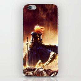 SABER - FATE iPhone Skin