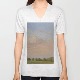 Sunset Painting Unisex V-Neck