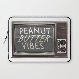 Peanut Butter Vibes Laptop Sleeve