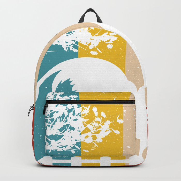 Retro Chicken product Gift Funny Vintage Chicken design Backpack