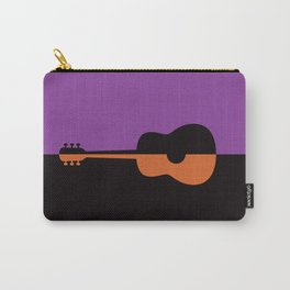 Acoustic Guitar Jazz Rock n Roll Classical Music Mid Century Modern Minimalist Abstract Geometrical Carry-All Pouch