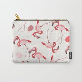 Pink Flamingos Modern Art Print Home Decor Interior Design Wall Hanging Carry-All Pouch