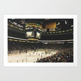 Bruins Win Art Print