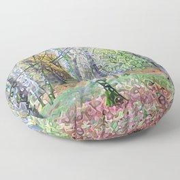 Whispering Woods Floor Pillow