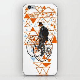 Bicycle Gent iPhone Skin
