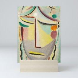 "Alexej von Jawlensky ""Saviour's Face - Moonlight (Annunciation)"" 1922 Mini Art Print"