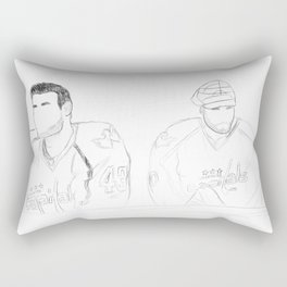 Washington Wilson and Holtby Rectangular Pillow